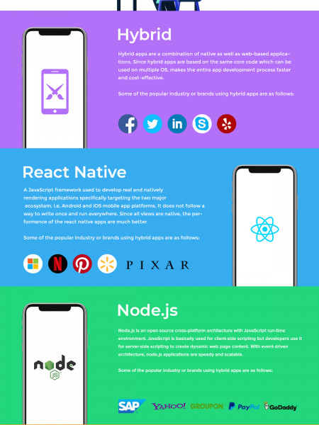 Web & Mobile Application Development Services Trends - 2019 Infographic