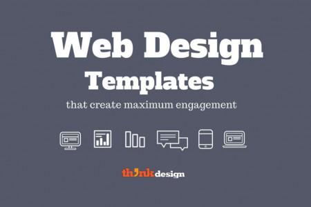 Web Design Templates that Get Maximum Engagement Infographic