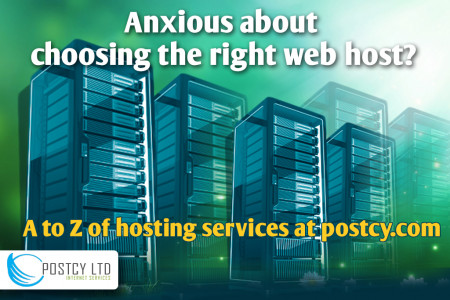 Web Hosting Cyprus - Register a Domain Name in Cyprus @ PostCy.com Infographic