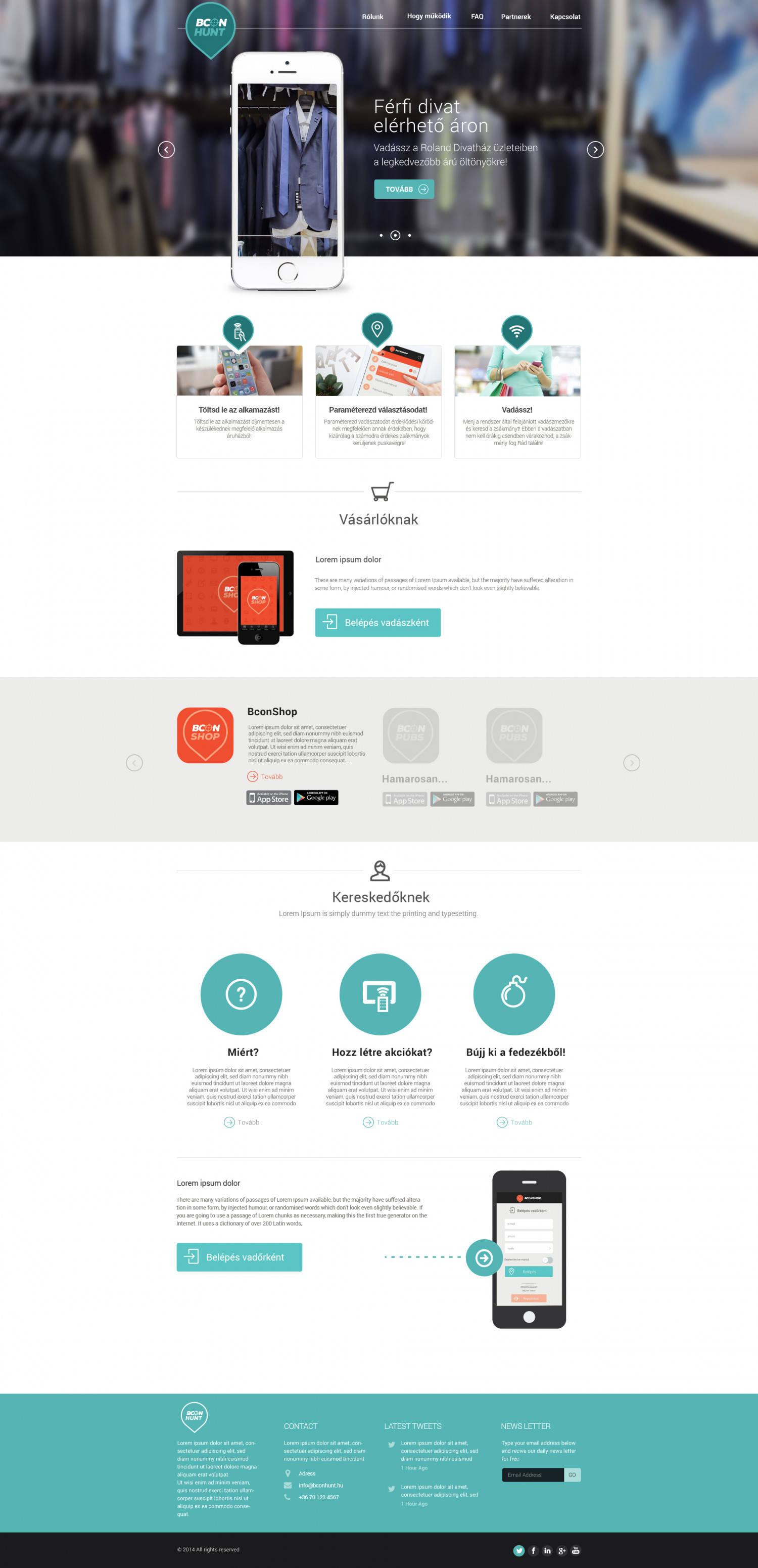 Webdesign and application Infographic