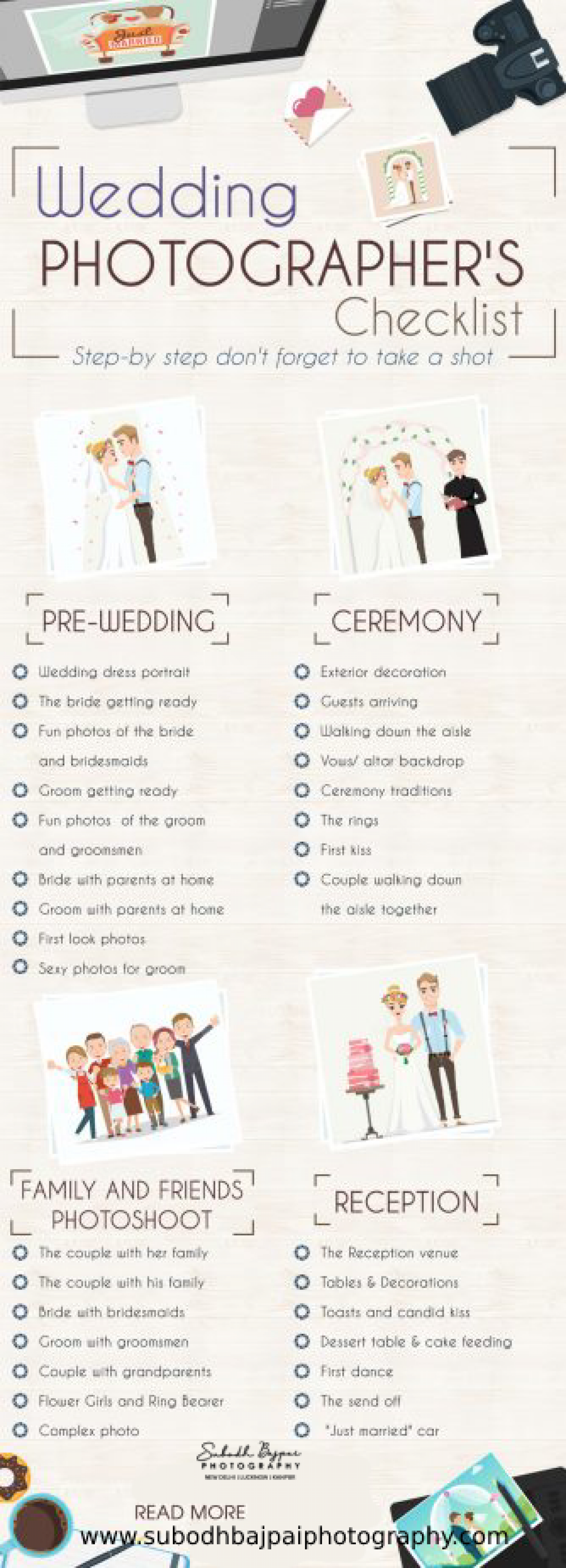 Wedding Checklist With Your Family Infographic