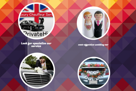 wedding day car hire Infographic