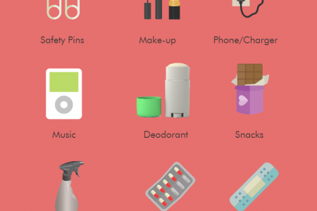 Wedding Day Survival Kit Infographic
