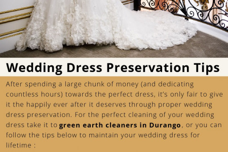 Wedding Dress Preservation Tips Infographic