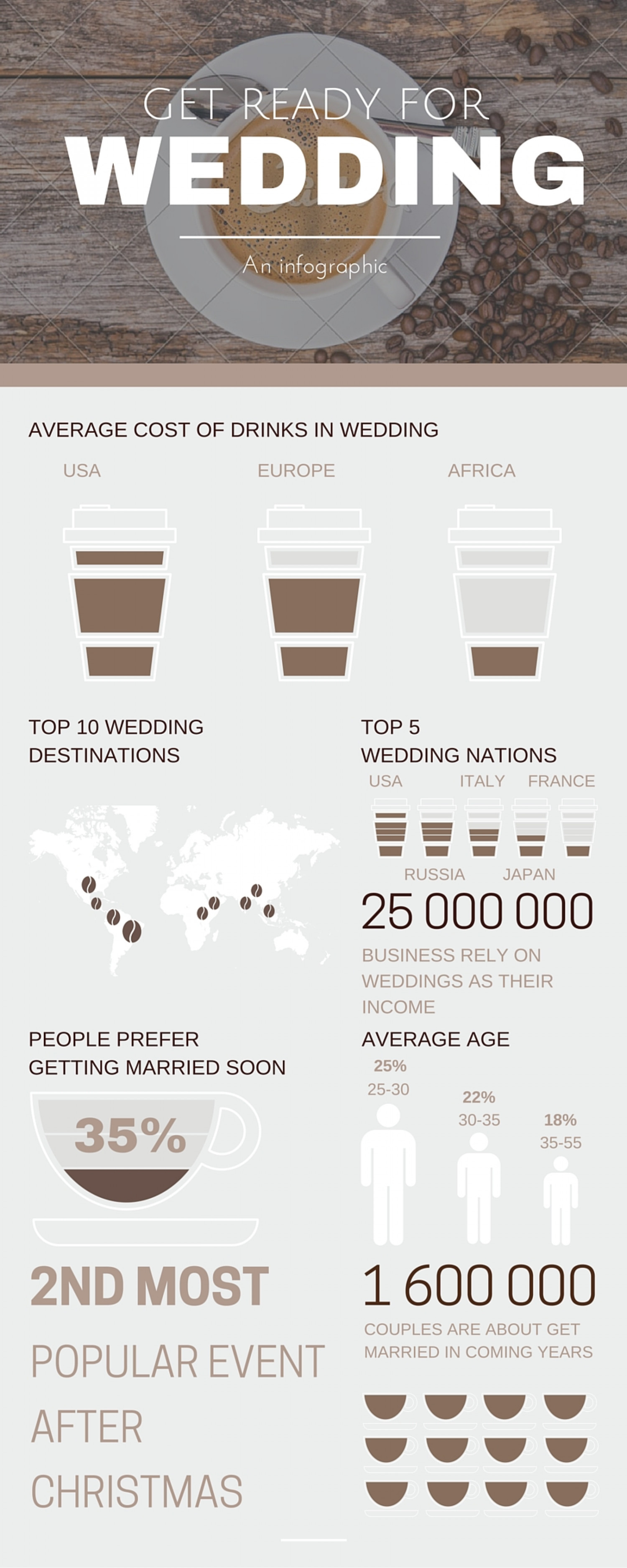 Wedding Dresses Infographic