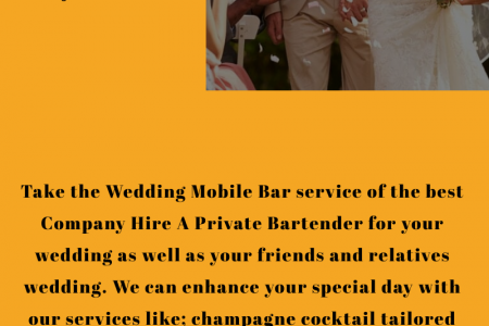 Wedding Mobile Bar- Best Service For Your Wedding   Infographic