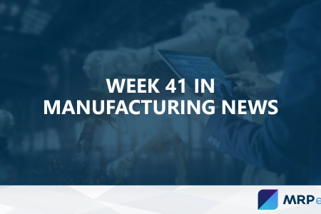 Week 41 in Manufacturing News Infographic