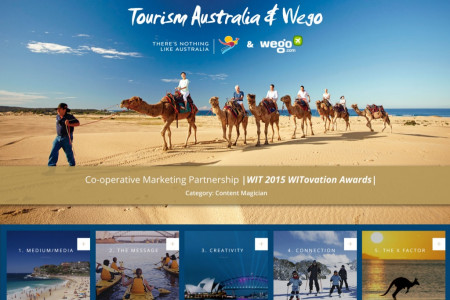 Wego and Tourism Australia Joint Campaign Infographic