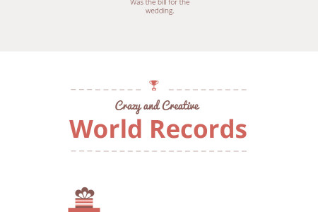Weird & Wonderful Wedding Facts Infographic