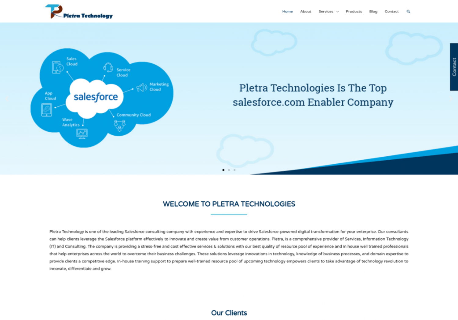 WELCOME TO PLETRA TECHNOLOGIES Infographic