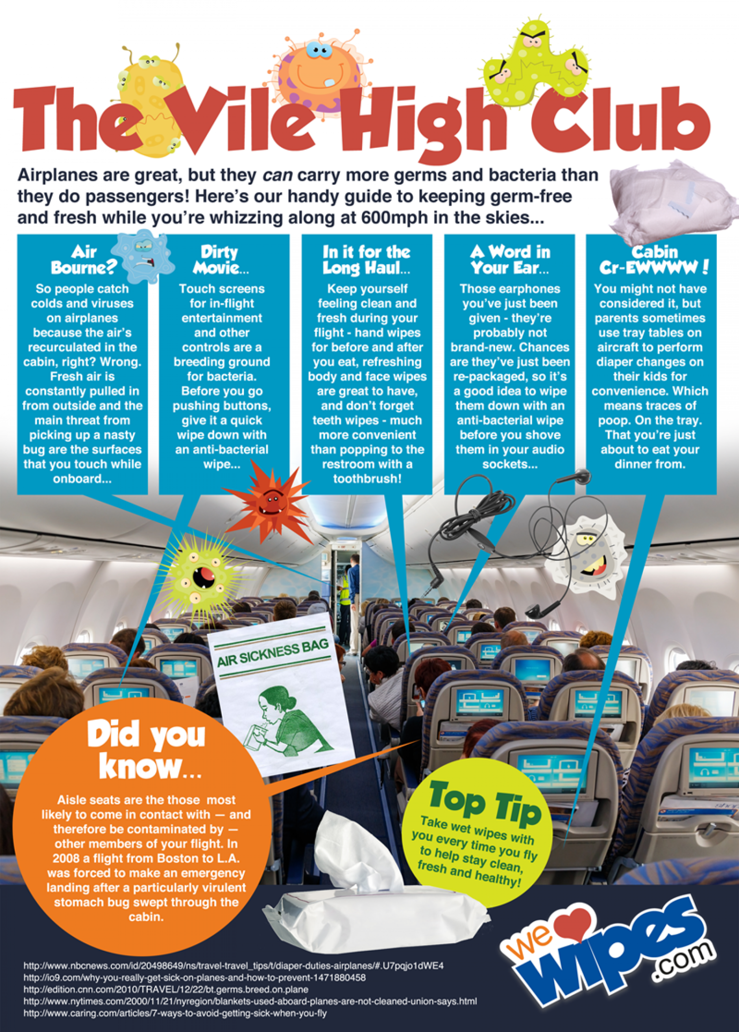 Welcome to the Vile High Club! Infographic