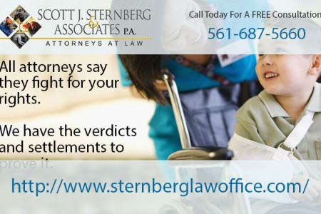 West Palm Beach personal injury lawyers  Infographic