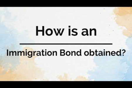 What are Immigration Bonds and How do you Obtain One? Infographic