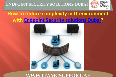 What are IT AMC Support Endpoint Security Solutions Dubai? Infographic