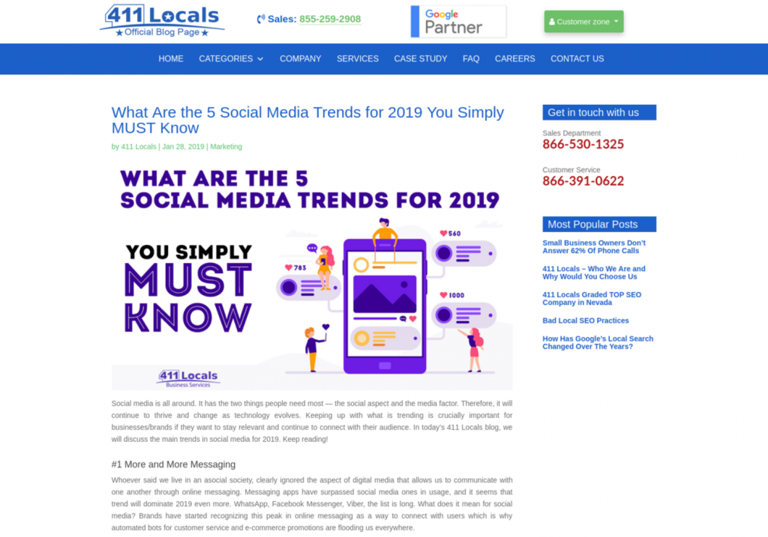 What Are the 5 Social Media Trends for 2019 You Simply MUST Know Infographic
