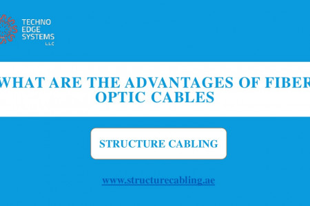 What are the Advantages of Fiber Optic Cables Infographic