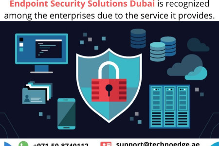 What are the benefits of Endpoint Security Solutions Dubai Infographic