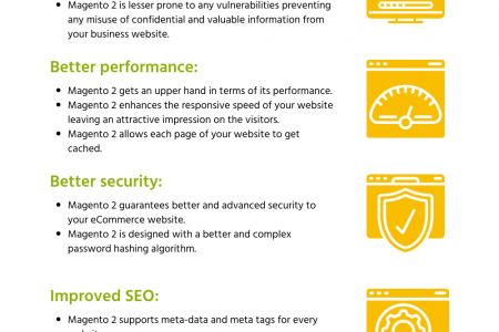 What are the benefits of Magento 2 migration? Infographic