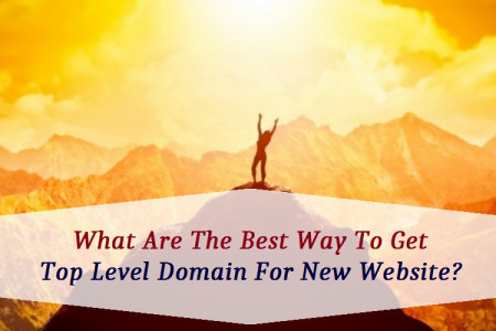 What Are The Best Way To Get Top Level Domain For New Website? Infographic