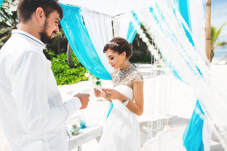 What are the distinctive sorts of weddings in Dominican Republic?  Infographic