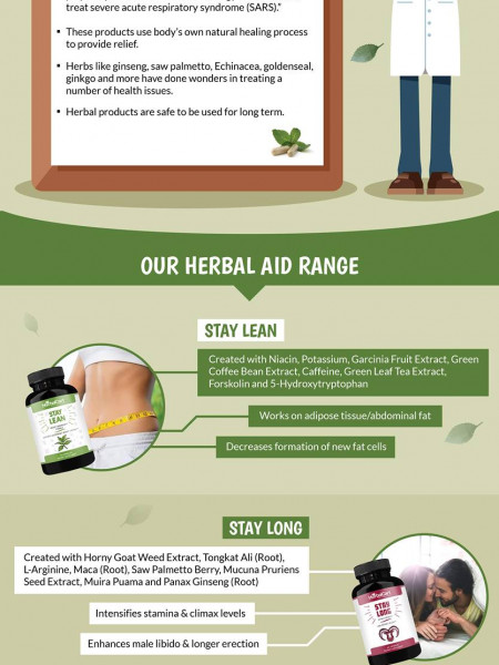 What Are The Herbal Supplements? Infographic