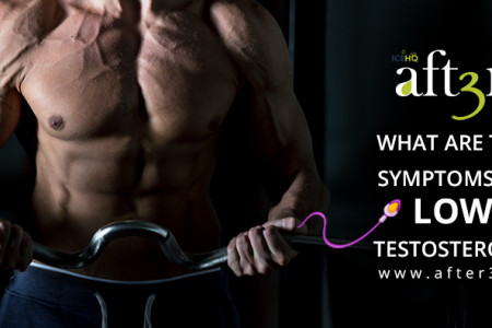 What Are The Symptoms Of Low Testosterone? Infographic