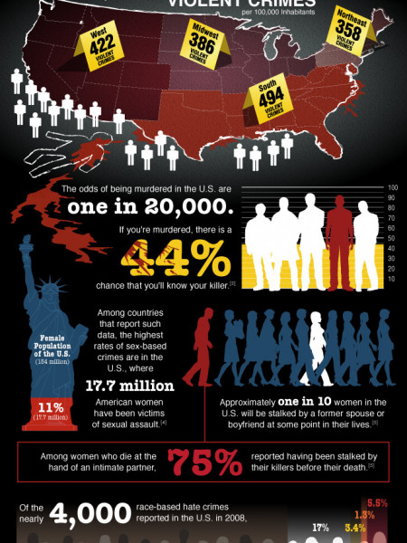 What are your Chances of Becoming a Crime Statistic? Infographic
