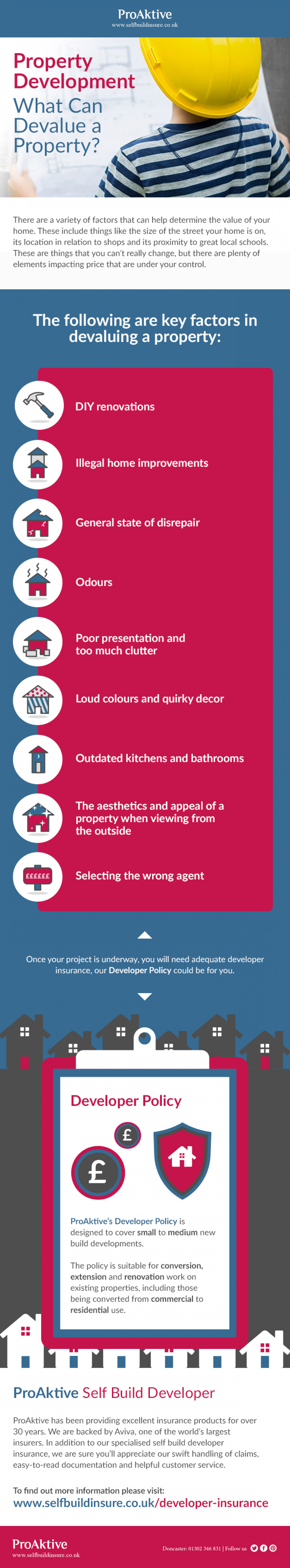 What Can Devalue a Property? Infographic