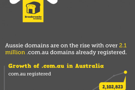 What comes first: Your business name or domain name? Infographic