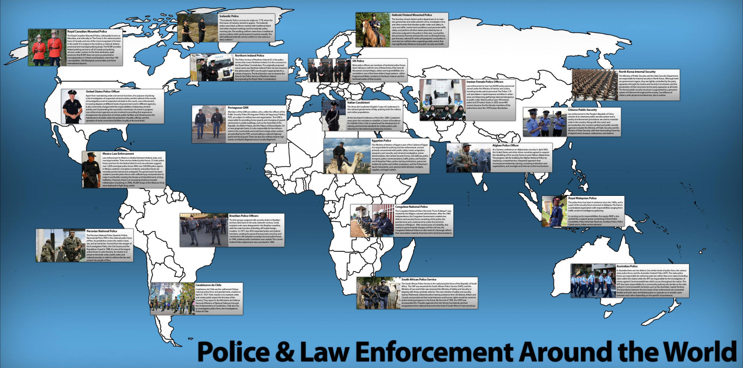 What Do Other Police Officers Wear? Infographic