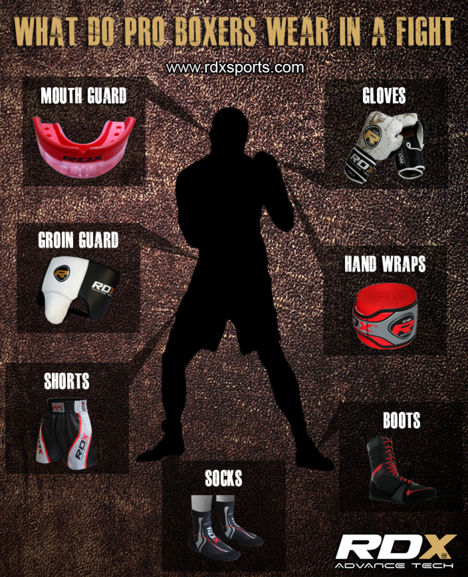 What Do Professional Boxers Wear? Infographic