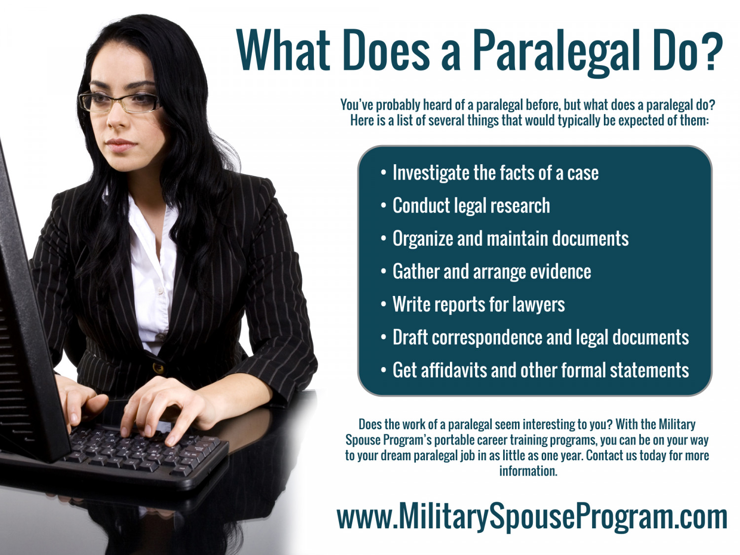what does a paralegal do visual ly