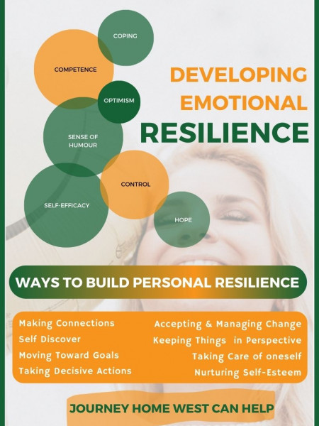 What does it mean to be resilient Infographic
