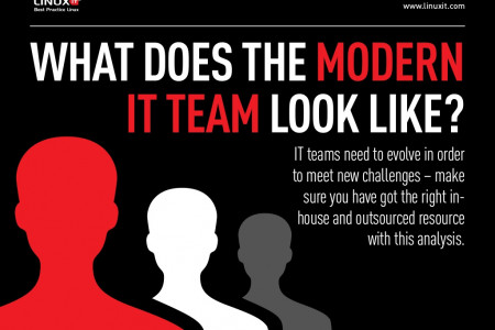 What Does the Modern IT Team Look Like Infographic