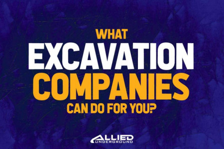 What Excavation Companies Can Do For You? Infographic