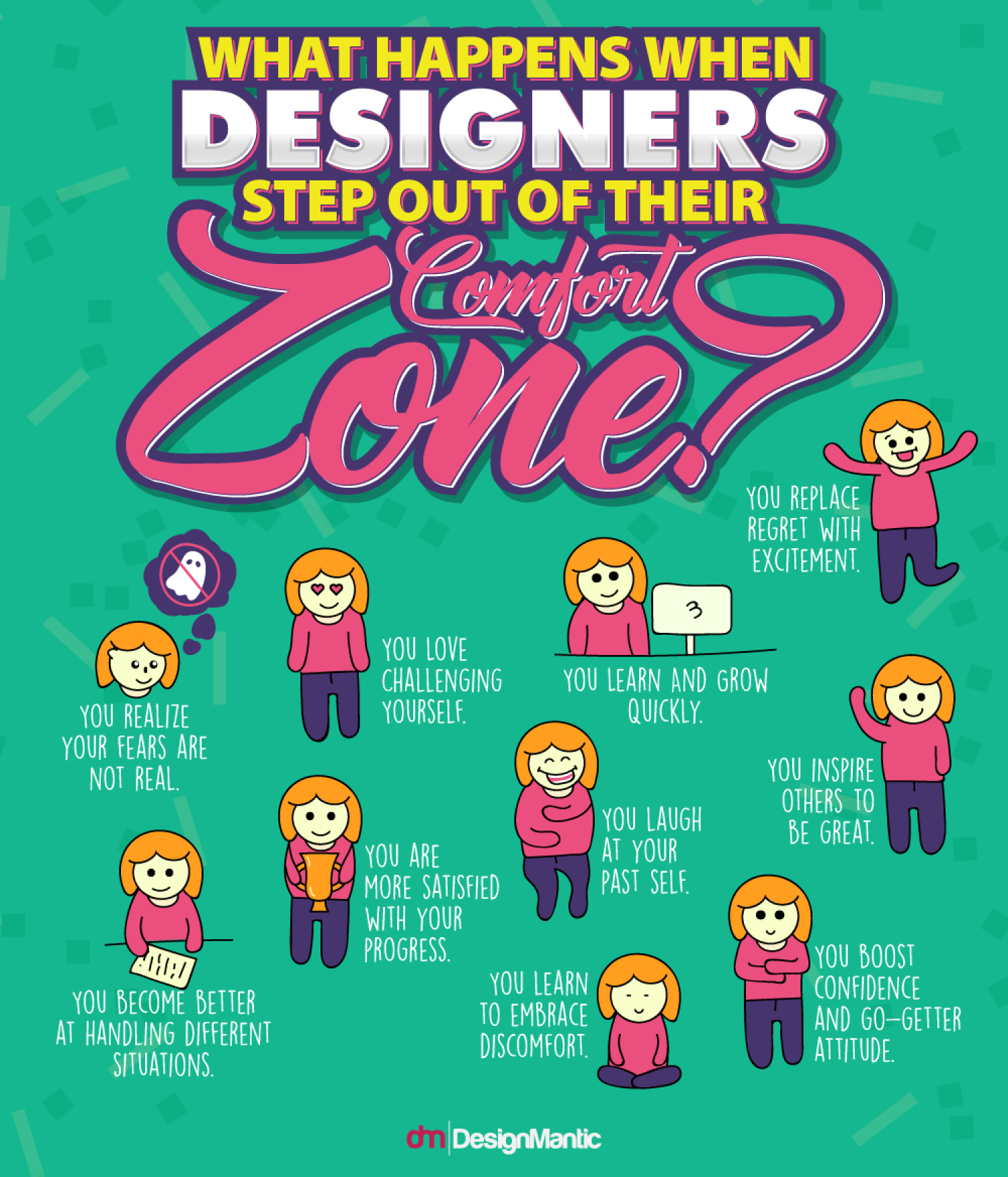 What Happens When Designers Step Out of Their Comfort Zone? Infographic