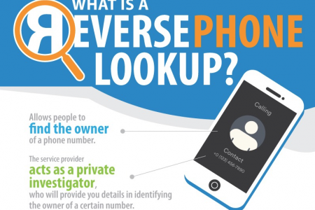 What is a Reverse Phone Lookup? Infographic