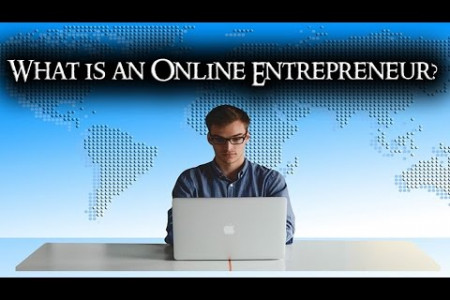 What is an Online Entrepreneur? Infographic