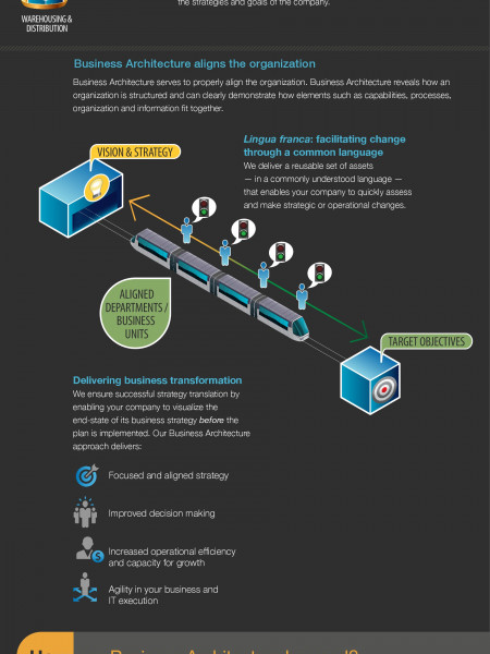 Business Architecture Infographic