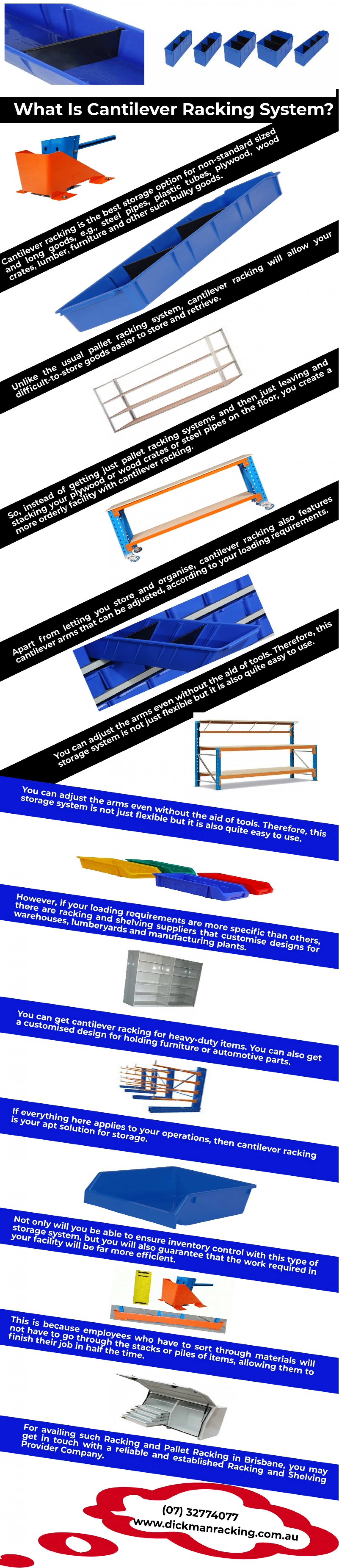 What Is Cantilever Racking System?  Infographic