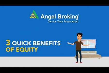What is Equity & Its Benefits - Angel Broking Infographic