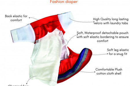What is Hybrid Diapers Infographic