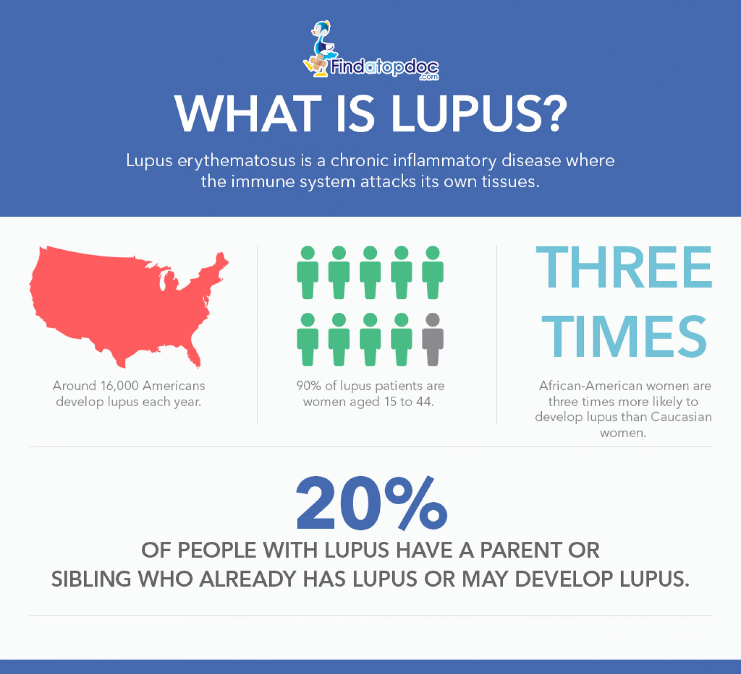 What is Lupus? Causes, Risk Factors and Types of Lupus Infographic