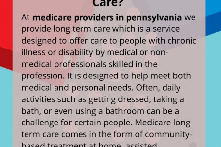 What is Medicare Long Term Care? Infographic