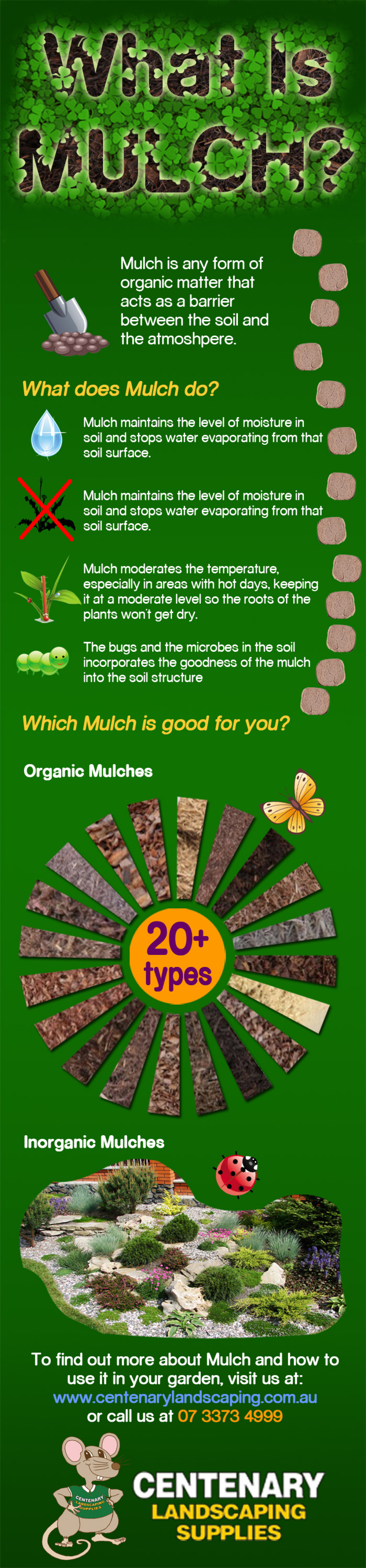 What Is Mulch? Infographic