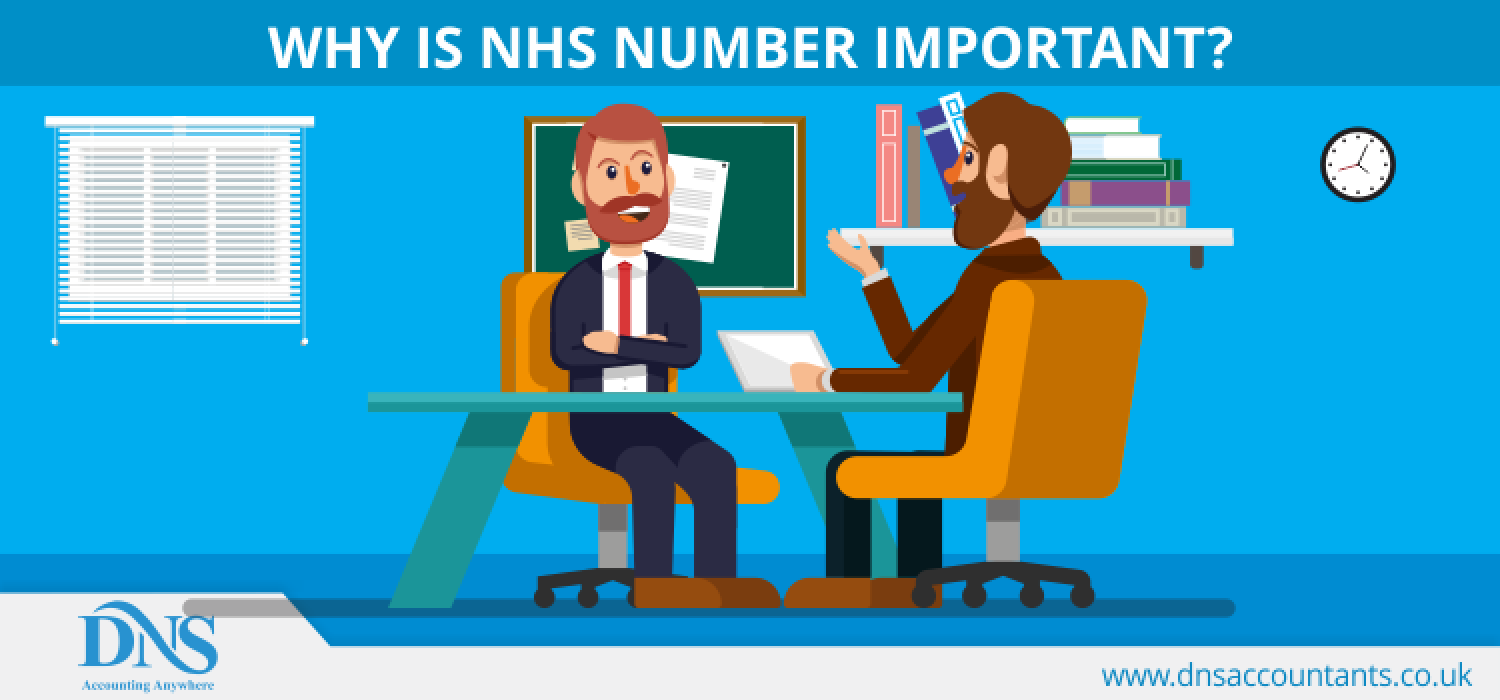 What is NHS Number Infographic