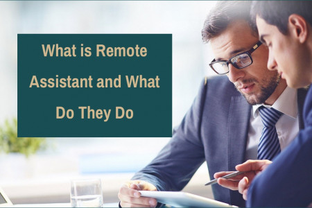 What is Remote Assistant and What Do They Do Infographic
