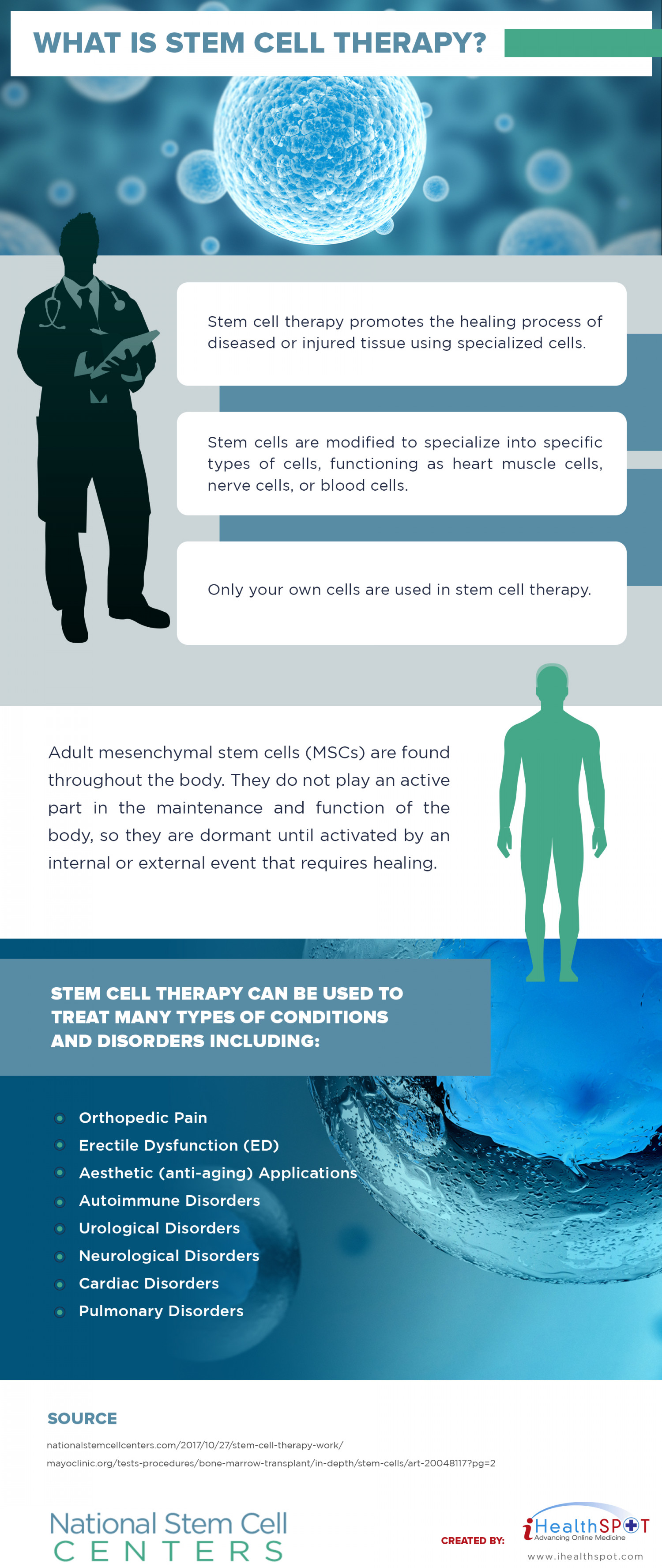 What is stem cell therapy? Infographic