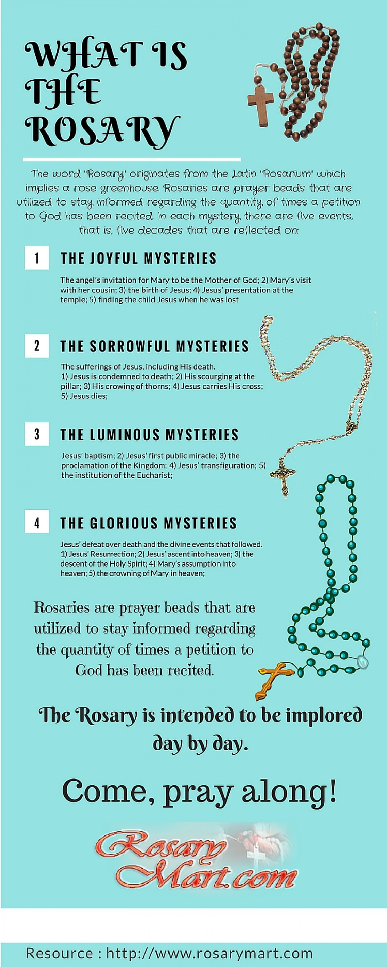 What is the rosary for