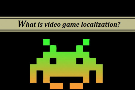 What is video game localization? Infographic
